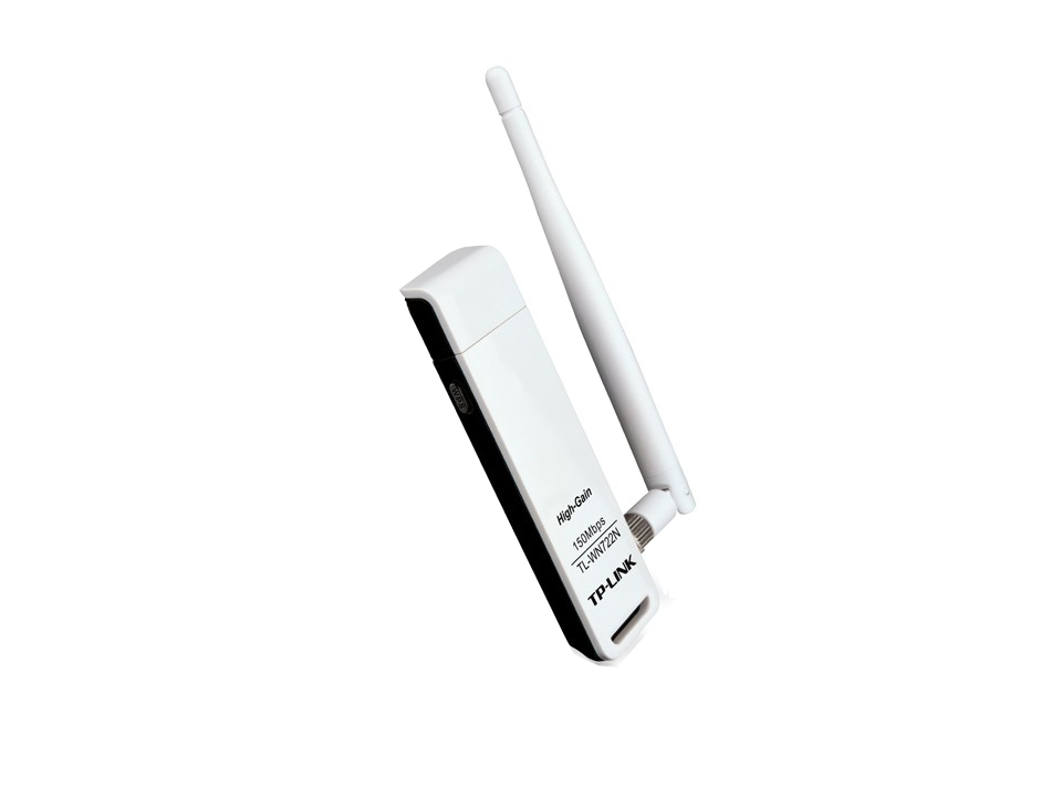 Adaptador Wireless USB WN722N - TP-Link